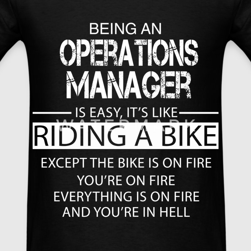 Operations Manager T-Shirts - Men's T-Shirt