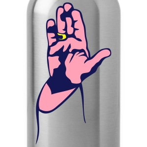 hand sign religious salvation 2 T-Shirts - Water Bottle