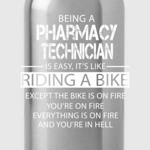 Pharmacy Technician T-Shirts - Water Bottle
