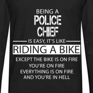 Police Chief T-Shirts - Men's Premium Long Sleeve T-Shirt