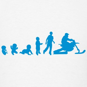 human evolution snowbike 1 Tanks - Men's T-Shirt
