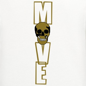 move (skull) T-Shirts - Contrast Hoodie
