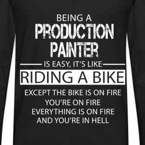 Production Painter T-Shirts - Men's Premium Long Sleeve T-Shirt