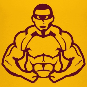 bodybuilder muscle heroes Kids' Shirts - Toddler Premium T-Shirt