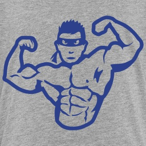 bodybuilder muscle bodybuilding heroes Kids' Shirts - Toddler Premium T-Shirt