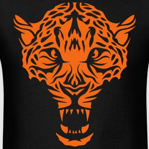 leopard head super 3024 drawing 3 Hoodies - Men's T-Shirt