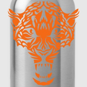 leopard head super 3024 drawing 3 Hoodies - Water Bottle