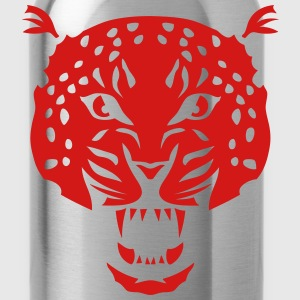leopard head super 3024 drawing T-Shirts - Water Bottle
