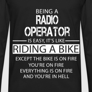 Radio Operator T-Shirts - Men's Premium Long Sleeve T-Shirt