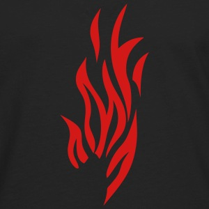 fire flame 302 T-Shirts - Men's Premium Long Sleeve T-Shirt