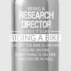 Research Director T-Shirts - Water Bottle