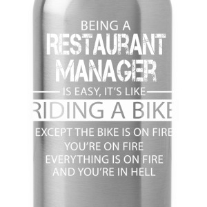Restaurant Manager T-Shirts - Water Bottle