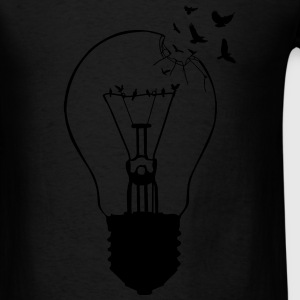 Outlaw, breaking out of the old light bulb Tanks - Men's T-Shirt