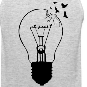 Outlaw, breaking out of the old light bulb Hoodies - Men's Premium Tank