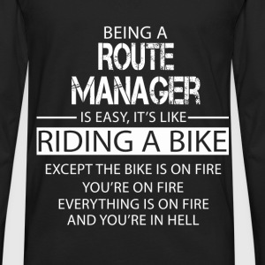 Route Manager T-Shirts - Men's Premium Long Sleeve T-Shirt
