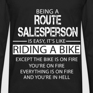 Route Salesperson T-Shirts - Men's Premium Long Sleeve T-Shirt