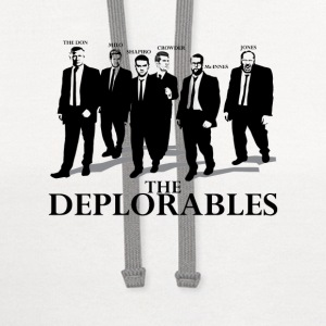 The Deplorables T-shirt - Contrast Hoodie