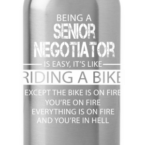 Senior Negotiator T-Shirts - Water Bottle
