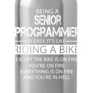 Senior Programmer T-Shirts - Water Bottle