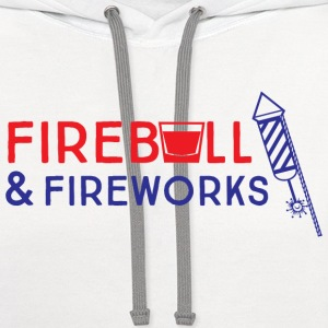 Fireball and Fireworks T-Shirts - Contrast Hoodie