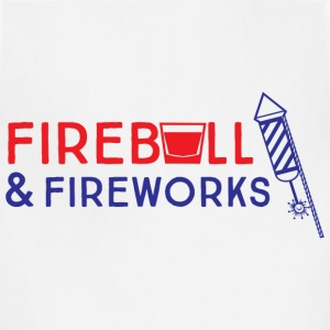 Fireball and Fireworks T-Shirts - Adjustable Apron