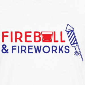 Fireball and Fireworks T-Shirts - Men's Premium Long Sleeve T-Shirt