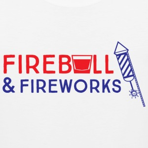 Fireball and Fireworks T-Shirts - Men's Premium Tank
