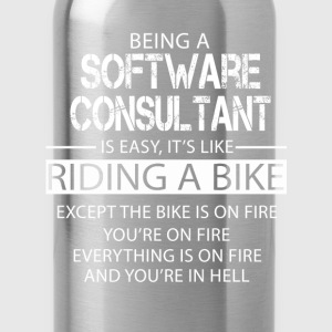 Software Consultant T-Shirts - Water Bottle