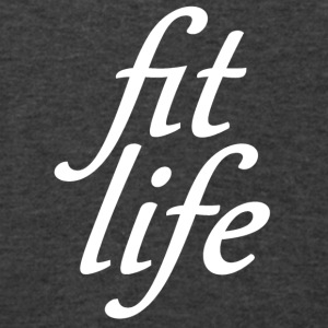 fit life white Bags & backpacks - Men's V-Neck T-Shirt by Canvas