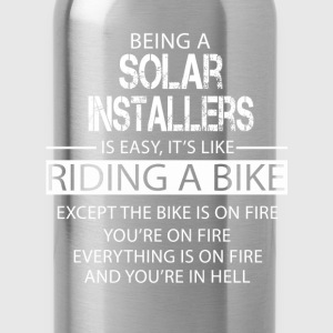 Solar Installers T-Shirts - Water Bottle