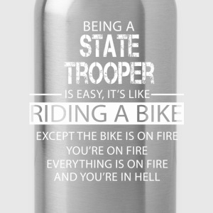 State Trooper T-Shirts - Water Bottle