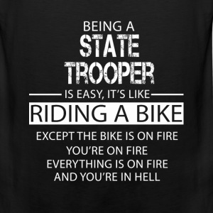 State Trooper T-Shirts - Men's Premium Tank