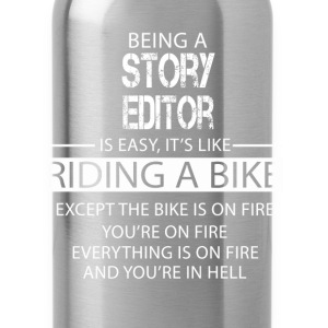Story Editor T-Shirts - Water Bottle