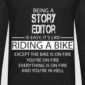 Story Editor T-Shirts - Men's Premium Long Sleeve T-Shirt