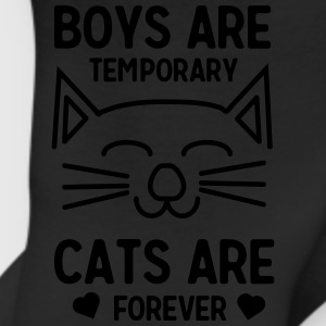 Boys are temporary. Cats are forever T-Shirts - Leggings