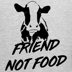 Cows are Friends not Food T-Shirts - Men's Premium Tank