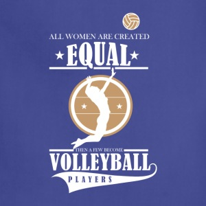 Volleyball players T-Shirts - Adjustable Apron
