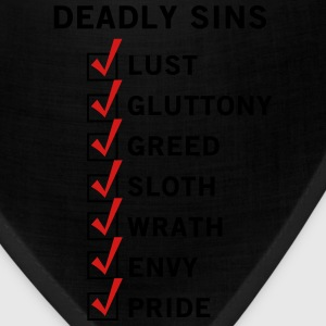 7 Deadly Sins T-Shirts - Bandana