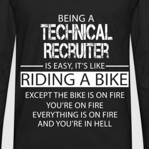 Technical Recruiter T-Shirts - Men's Premium Long Sleeve T-Shirt