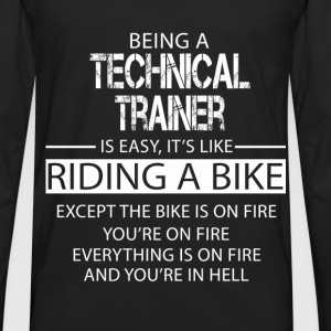 Technical Trainer T-Shirts - Men's Premium Long Sleeve T-Shirt
