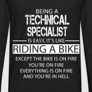 Technical Specialist T-Shirts - Men's Premium Long Sleeve T-Shirt