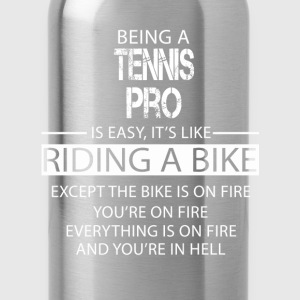 Tennis Pro T-Shirts - Water Bottle