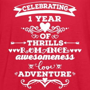 1st Anniversary Vintage T-Shirts - Women's Flowy Tank Top by Bella