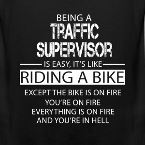 Traffic Supervisor T-Shirts - Men's Premium Tank