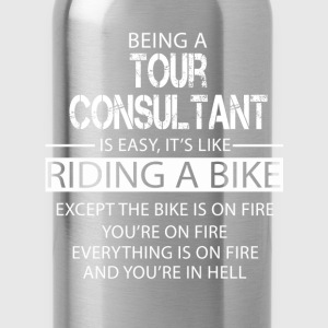Tour Consultant T-Shirts - Water Bottle