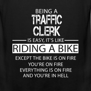 Traffic Clerk T-Shirts - Men's Premium Tank