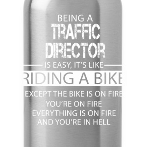 Traffic Director T-Shirts - Water Bottle