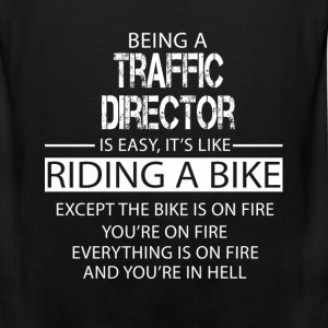 Traffic Director T-Shirts - Men's Premium Tank