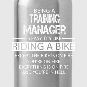 Training Manager T-Shirts - Water Bottle