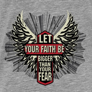 Your faith Hoodies - Men's Premium T-Shirt